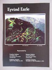 Eyvind Earle Art Gallery Exhibit PRINT AD - 1979