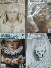 Dangerous Ink Magazine 1,2,3,4-alternative art magazines-JOB LOT