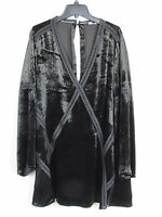 Dolce Vita Black Long Sleeve V Neck Dress Women's Size Small