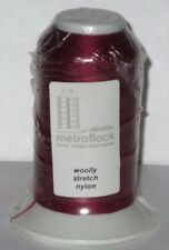METTLER Burgundy Red ~ Serger Overlock Thread Woolly Nylon Sewing Crafts