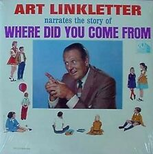 ART LINKLETTER - WHERE DID U COME FROM - SEALED LP