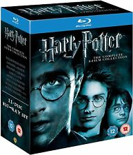 Harry Potter COMPLETE 8-Film Collection BLU-RAY Box Set Complete Lot Series Show