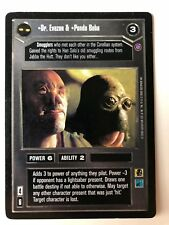Star Wars CCG Dr. Evazan & Ponda Baba | Reflections II | NM/MT +Bonus!