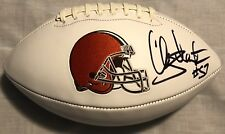 Clay Matthews Signed Autographed Cleveland Browns Logo Football Psa/Dna