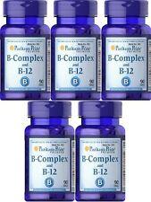 5 VITAMIN B-COMPLEX AND B-12 90 TABLETS, VITAMIN B-KOMPLEX-und B-12