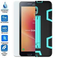 Samsung Galaxy Tab A 8.0 (2017)/T385/T380 Screen Protector+Hybrid Kickstand Case
