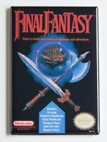 Final Fantasy 2 FRIDGE MAGNET video game box snes