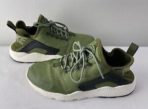 huarache zapatillas verdes