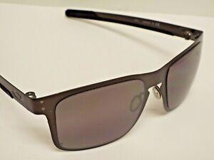 Authentic Oakley OO4123-06 Holbrook Metal Gunmetal Grey Prizm P Sunglasses $320