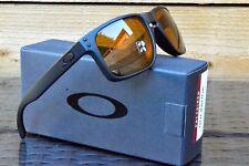 Nuevas Gafas de sol Oakley Holbrook-Negro Mate bronce polarizado 9102-98 ~