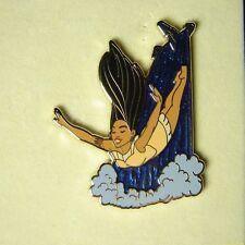 Pocahontas Waterfall Diving Pin UK Disney LE 500 On Original Card