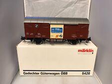 MARKLIN GAUGE 1 5426 OBB COVERED FREIGHT WAGON GUTERWAGEN STUNNING ORIGINAL BOX