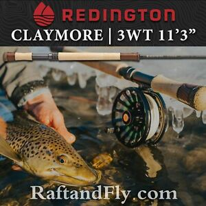 """Redington Claymore Trout Spey 3wt 11'3"""" - FREE SHIPPING"""
