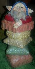 SALVADANAIO ELFO Gnomo Troll Dwarf Figure Lucky Fatine Fata Angelo Portafortuna