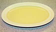 Harker Pottery LAURELTON Yellow Oval Platter