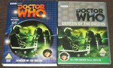 DOCTOR WHO Genesis Of The Daleks DVD 2-Disc Set + Slipcover VGC Tom Baker
