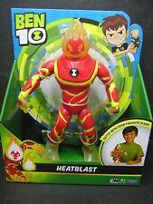 "Playmates Toys BEN 10 11"" Super Deluxe Heatblast Figure BRAND NEW"
