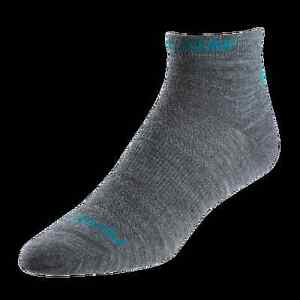 Pearl Izumi Womens Elite Low Wool Sock, 2 Pairs,Size Medium, Running Socks