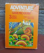 Adventure Atari 2600 Boxed with Instructions Ready Player One First Easter Egg