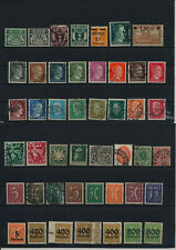 Germany, Deutsches Reich, Nazi, liquidation collection, stamps, Lot,used (EG 50)