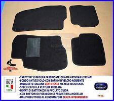 Tappetini per Fiat Punto 3 e 5 porte dal 2012 in poi Set Tappeti auto su misura