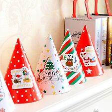 Happium - Traditional Paper Christmas Hats - 10pcs