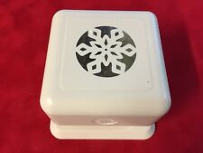Martha Stewart SKYLANDS SNOWFLAKE Punch All Over The Page ❄️ EUC