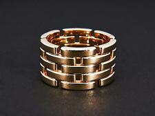 exklusiver Cartier Maillon Panthère Ring / top Breite / GOLD 750 / RG 67