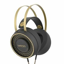 Betron Retro Over Ear Headphones Bass Driven Sound for Iphone, Ipod, Ipad, Table