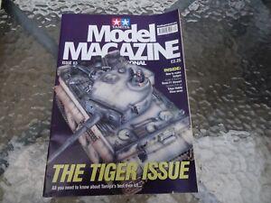 TAMIYA MODEL MAGAZONE DEC-JAN 2000-2001