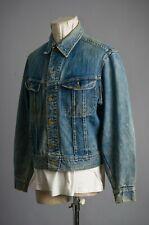 Vtg Lee 101-J Denim Rider Jacket Size 42 Regular Sanforized 100% Cotton Usa