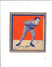 1935 Wheaties Irving Jafee Ice Skaker olympics card