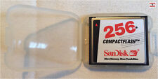 SanDisk Compact Flash CF-card 256mb sdcfa