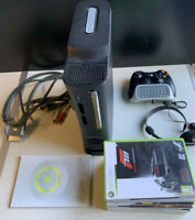 Microsoft Xbox 360 120GB Console Bundle W/ Cables Controller X7 Video Games