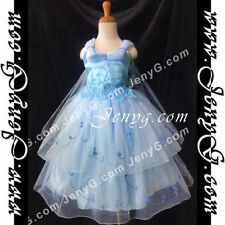Vêtements bleus en polyester pour fille de 4 à 5 ans