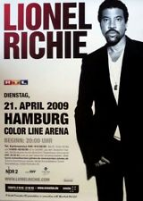 RICHIE, LIONEL - COMMODORES - 2009 - Konzertplakat - Tourposter - Hamburg