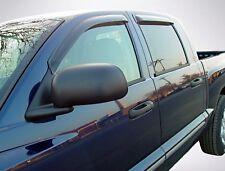 Tape-On Vent Visors for 2003 - 2009 Dodge Ram 2500/3500 Quad Cab