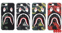 A Bathing Ape Bape 1ST ABC Camo Shark Case For iPhone XS MAX XR X 8 7 Plus 6 6S