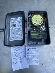 Intermatic Timer T1975 Electromechanical Multi Operation 125V T1975hdr HDR