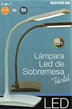 Lampara LED Sobremesa 6W - Flexo - 3 Niveles De Luz - Color Luz Seleccionable