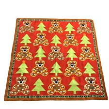 Vivienne Westwood Cotton Square/Scarf/Handkerchief/Bandana Red Bear/Orb