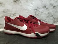 premium selection abc6f b1eab Nike Kobe X 10 Elite Low TB Burgandy Grey Mens Size 17 813030-602