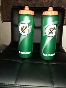 Raiders gatorade squeeze bottle 32 oz