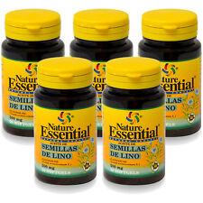 Semillas de Lino 500mg 50 perlas Nature Essential (laxante dieta peso)