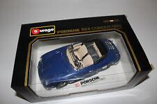 Bburago Modellauto Porsche 356B Cabriolet Bj 1961 blau in OVP Cod. 3051