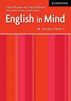 English in Mind 1 Teacher's Book, Pelteret, Cheryl, Thacker, Claire, Very Good c
