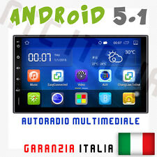 AUTORADIO ANDROID 5.1 ALFA ROMEO 147 MP3 WIFI BLUETOOTH AUX NAVIGATORE GPS USB
