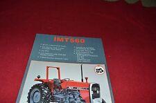 IMT 560 De luxe Tractor Dealers Brochure LCOH
