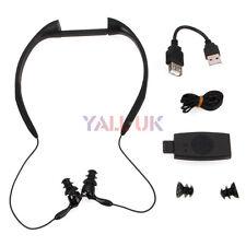 New 4GB Waterproof Sport MP3 Player Wireless Headphone For Swimming / Running UK