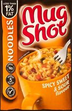 Mug Shot Noodle Snack Sweet & Sour Flavour 5 x 67g - Will Ship Worldwide From UK